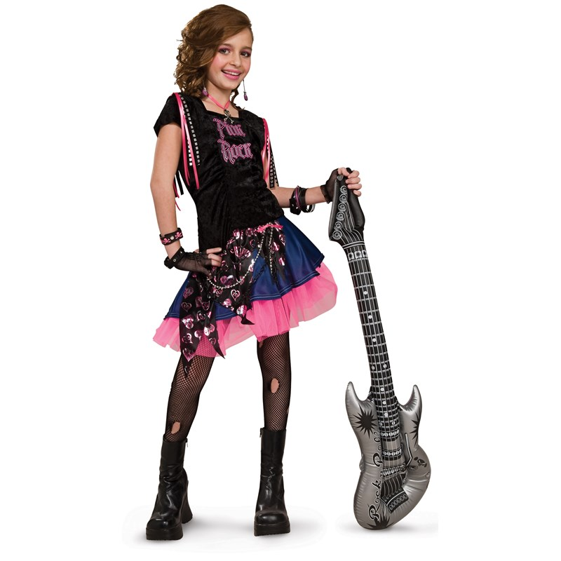 Pink Rock Girl Child Costume for the 2015 Costume season.