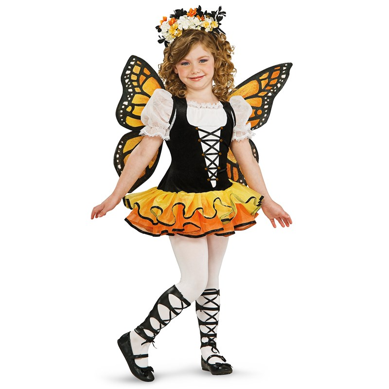 Monarch Butterfly Child Costume for the 2015 Costume season.