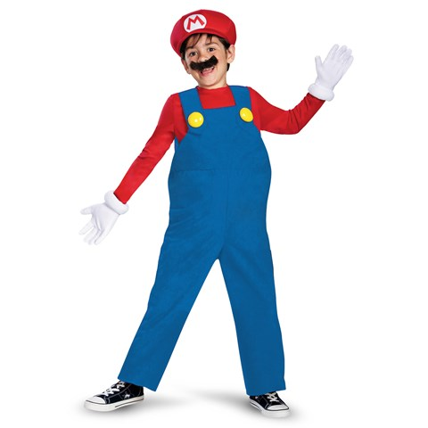 Super Mario Bros. - Mario Deluxe Toddler / Child Costume