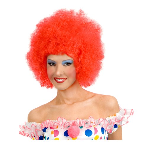 Red Clown Adult Wig
