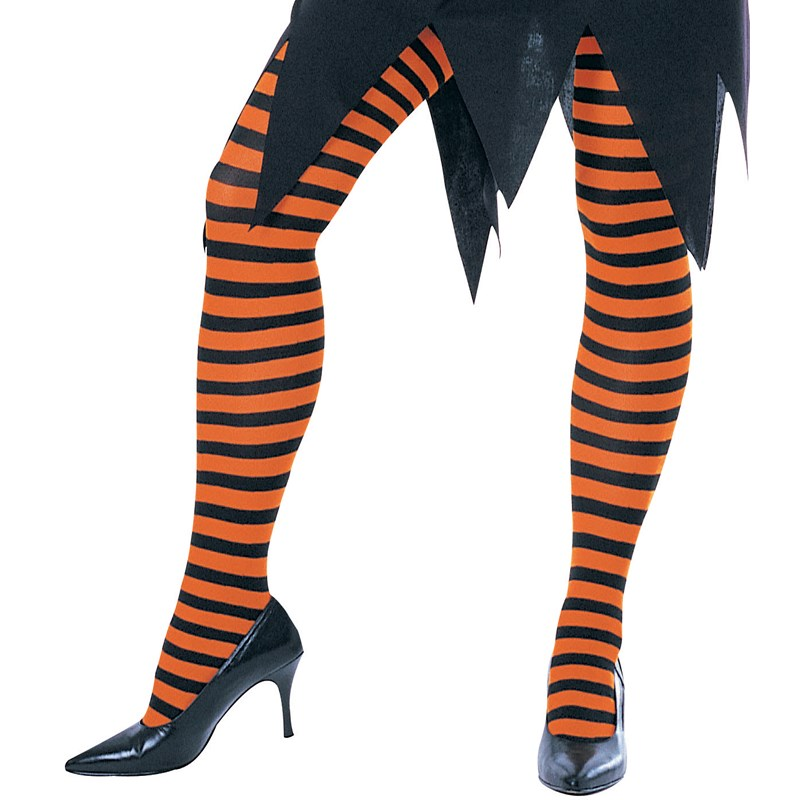 Orange and Black Striped Tights   Child for the 2015 Costume season.