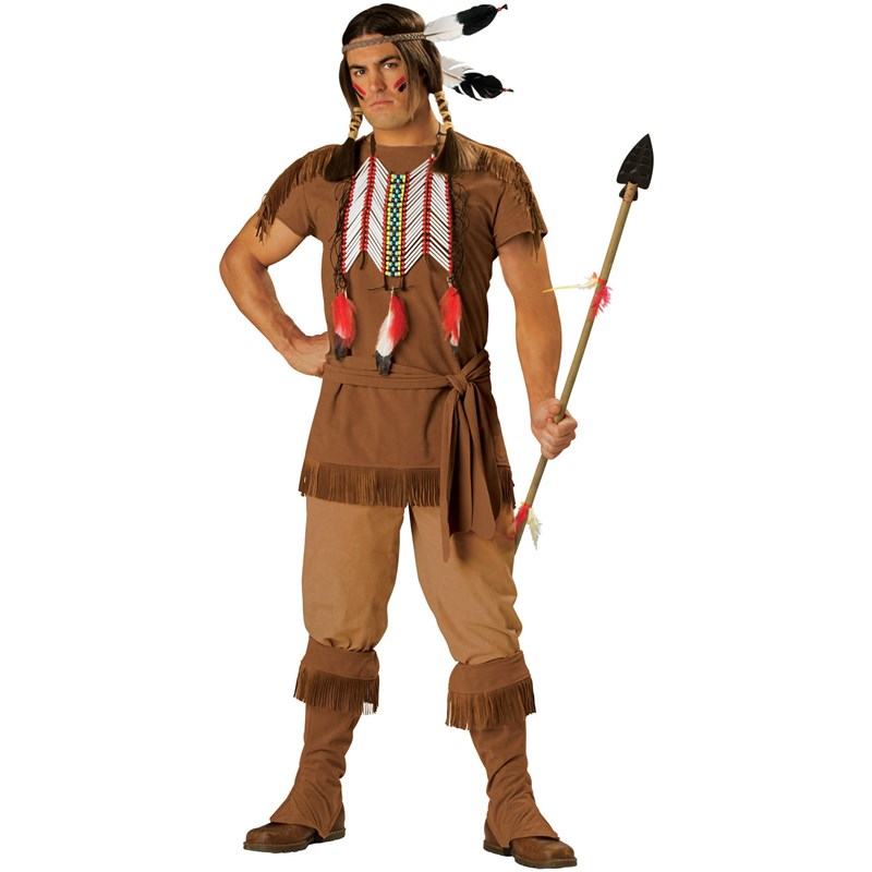 Indian Warrior Adult Costume for the 2015 Costume season.