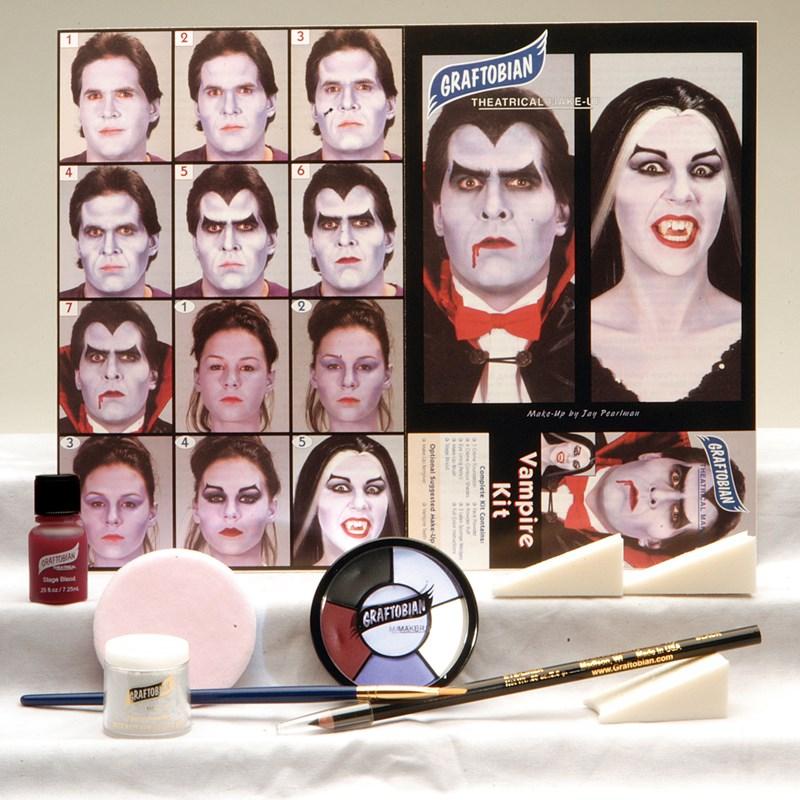 VampireTheatrical Makeup Kit for the 2015 Costume season.