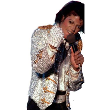 Michael Jackson Adult Sequin Glove