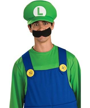 Deluxe Luigi Hat Adult