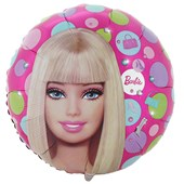 Barbie All Doll'd Up 18 inch. Foil Balloon