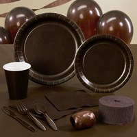 Chocolate Brown (Brown) Party Supplies