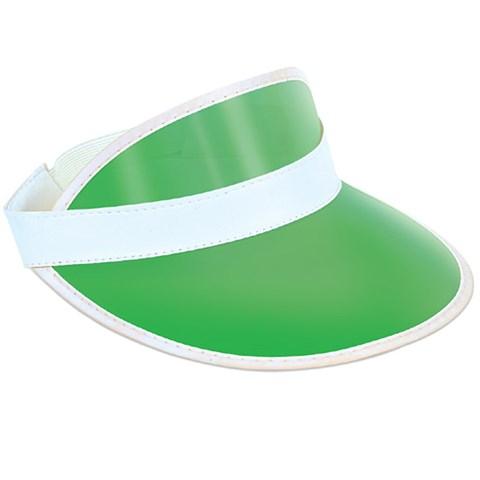 Green Plastic Dealer's Visor
