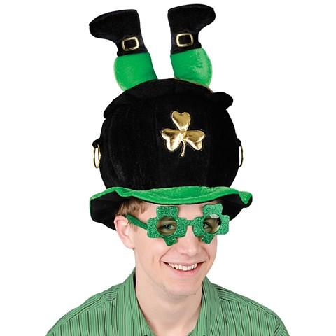 Leprechaun Pot O Gold Hat
