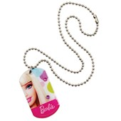 Barbie All Doll'd Up Dog Tag Necklace)