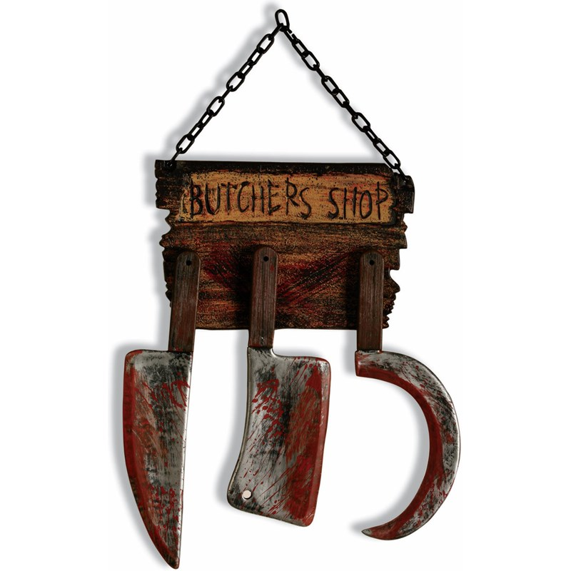 Butcher Shop Sign for the 2015 Costume season.