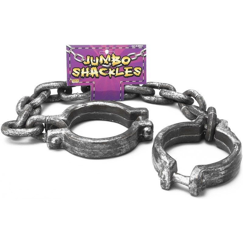 Jumbo Shackles for the 2015 Costume season.