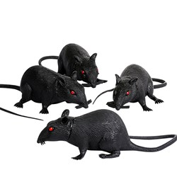 6 Plastic Rat (1 count)