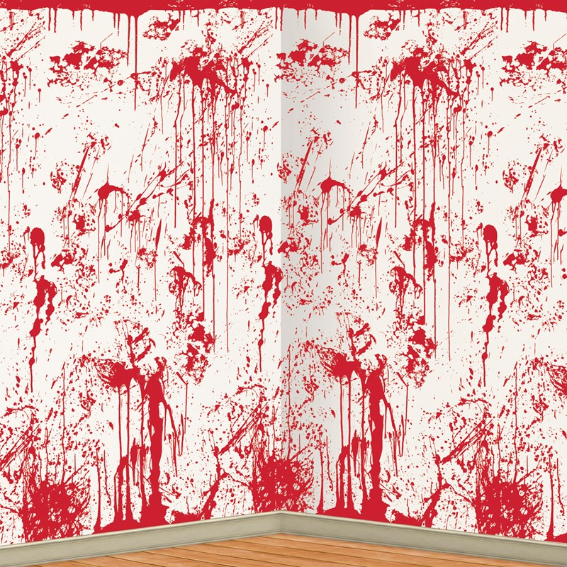 Bloody Wall Backdrop for the 2015 Costume season.