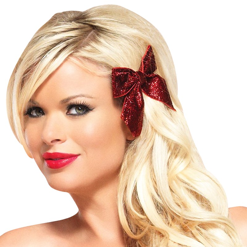 Glitter Hair Bows Adult for the 2015 Costume season.