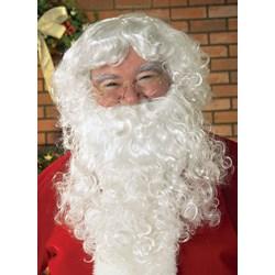 Economy Santa Beard Wig Set Adult