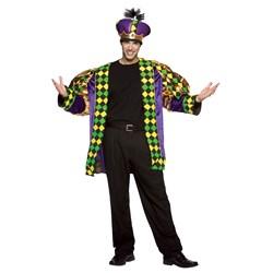 Mardi Gras King Adult Costume