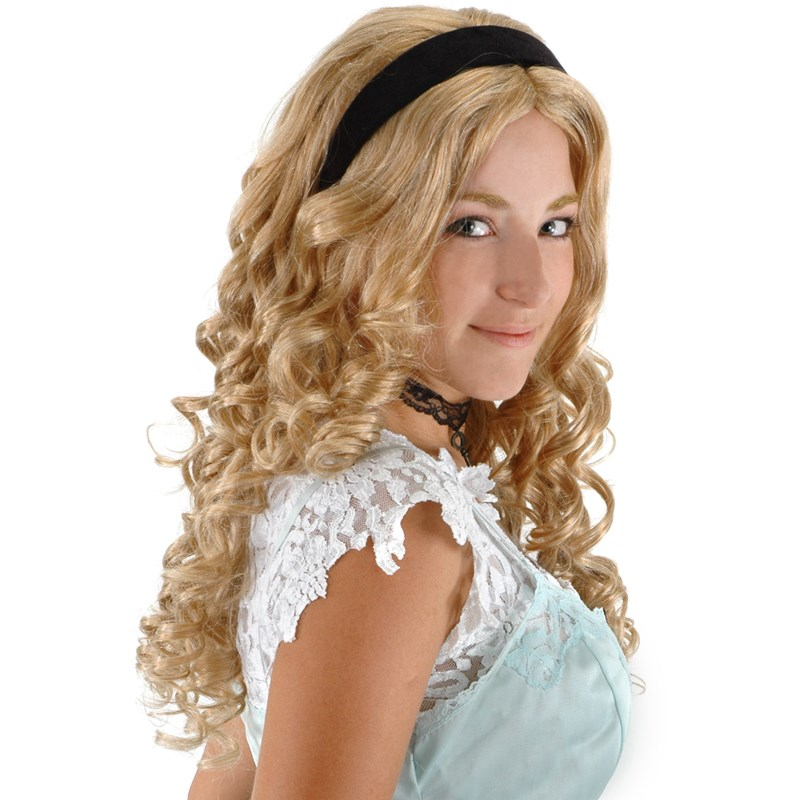 Alice In Wonderland Movie   Alice Wig Adult for the 2015 Costume season.