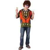 Dashiki Hippie Adult Shirt