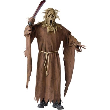 Scarecrow Ghost Face Adult Costume