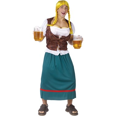 Miss German-breast Adult Costume