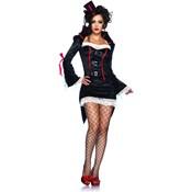 Vampire Seductress Halloween Costume
