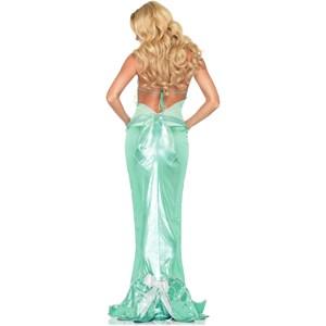 Fantasy Mermaid Adult Costume-Back View