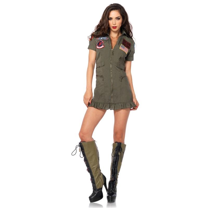 Top Gun Womens Flight Dress Adult Costume for the 2015 Costume season.