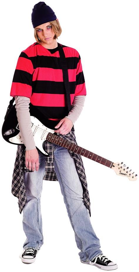 Image of 90s Grunge Guy Adult Costume