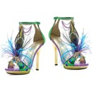 Sexy Mardi Gras Shoes
