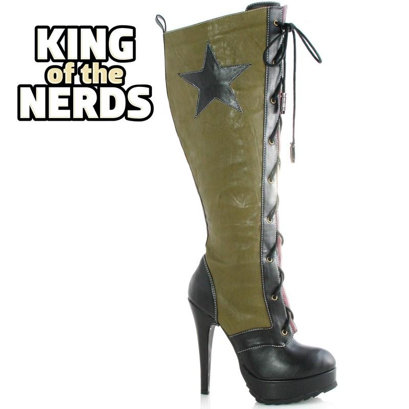 Militia Adult Boots for the 2015 Costume season.