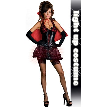 sexy vampire adult costume