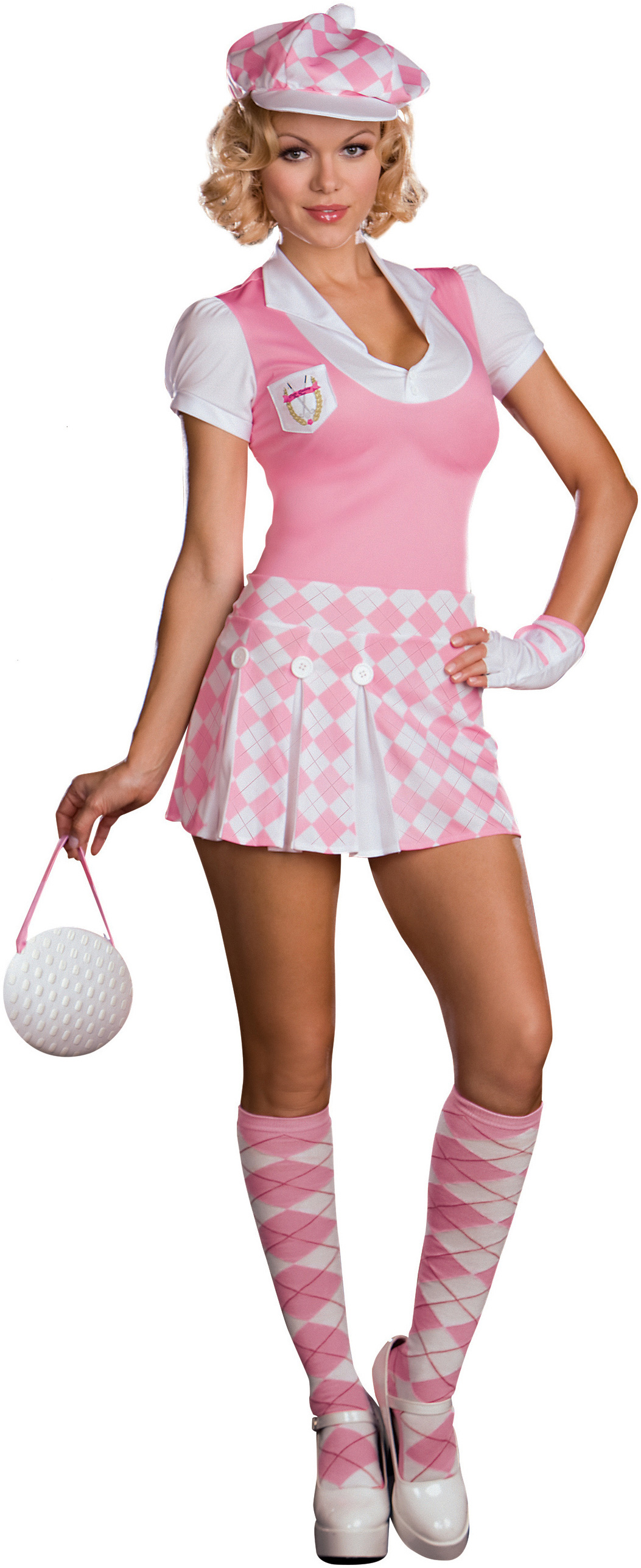 Model Womens Short Capri Pant  Golf Pant  Petite To Plus Size  KOBOMO