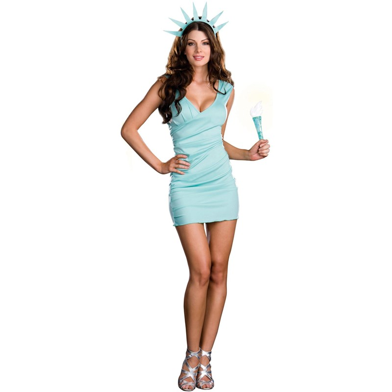 Miss Liberty Adult Costume for the 2015 Costume season.