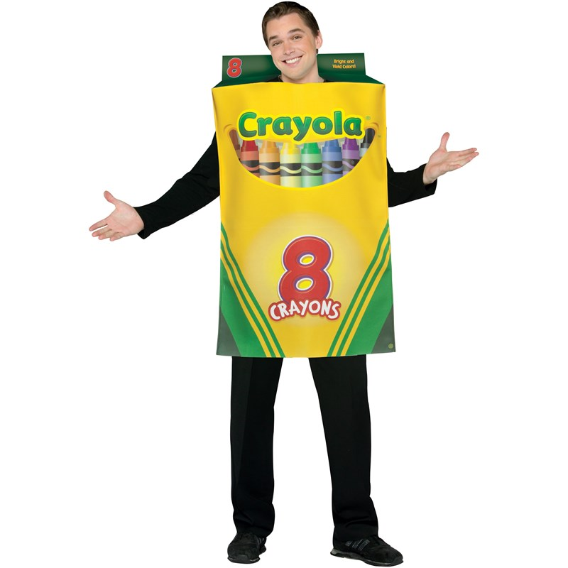 Crayola Crayon Box Adult Costume for the 2015 Costume season.
