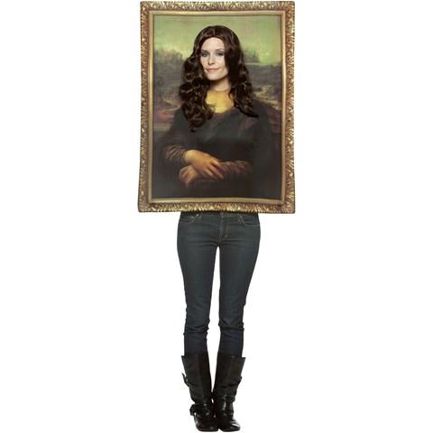 Mona Lisa Frame Adult Costume
