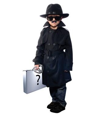 Jr Secret Agent Child Costume