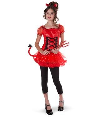 Lil Devil Light-Up Teen Costume