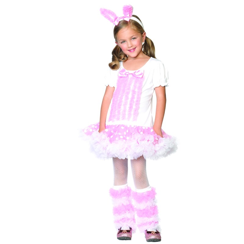 Fluffy Bunny Toddler  and  Child Costume for the 2015 Costume season.