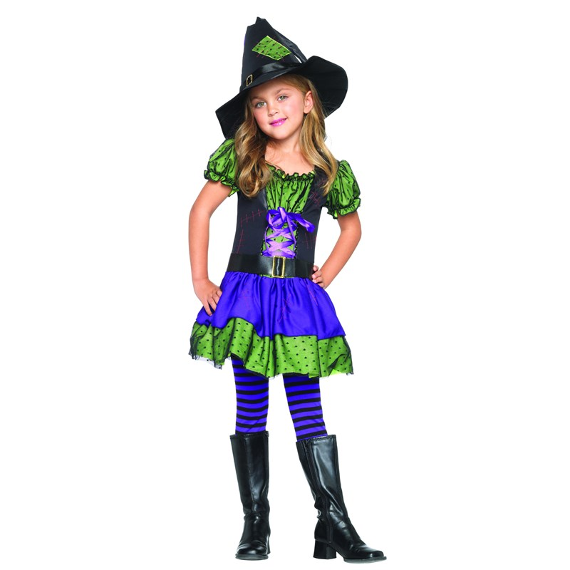 Hocus Pocus Witch Toddler  and  Child Costume for the 2015 Costume season.