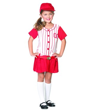 Lil Miss Slugger Child Costume