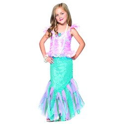 Magic Mermaid Child Costume