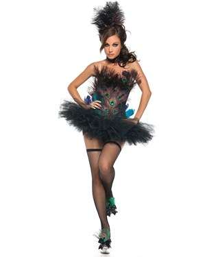 Sexy Peacock Adult Costume