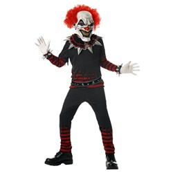 Evil Clown Child Costume