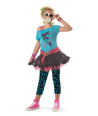 80s Valley Girl Child Costume