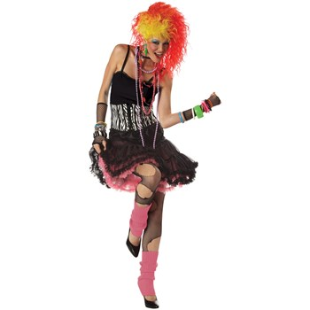 cyndi lauper 80's Party Girl Adult Costume