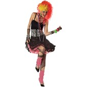 80's Party Girl Adult Costume