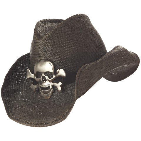 Cowboy Hat (Black) Adult