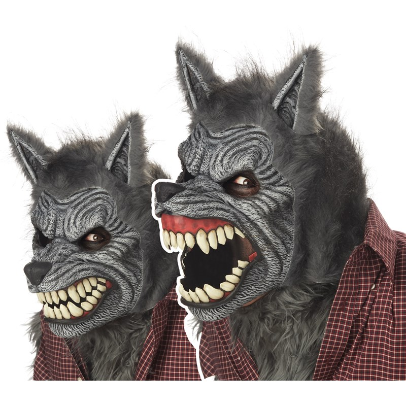 Werewolf Ani Motion Adult Mask for the 2015 Costume season.