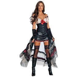 Jonah Hex - Lilah (Red Look) Adult Costume